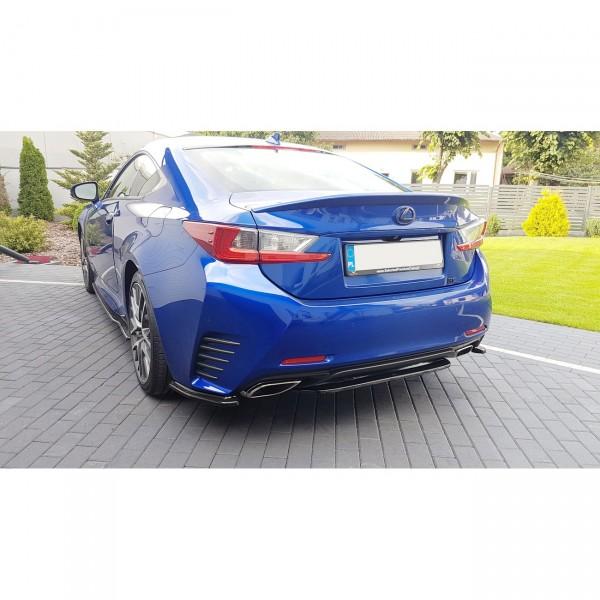 Mittlerer Diffusor Heck Ansatz passend für Lexus Rc Carbon Look