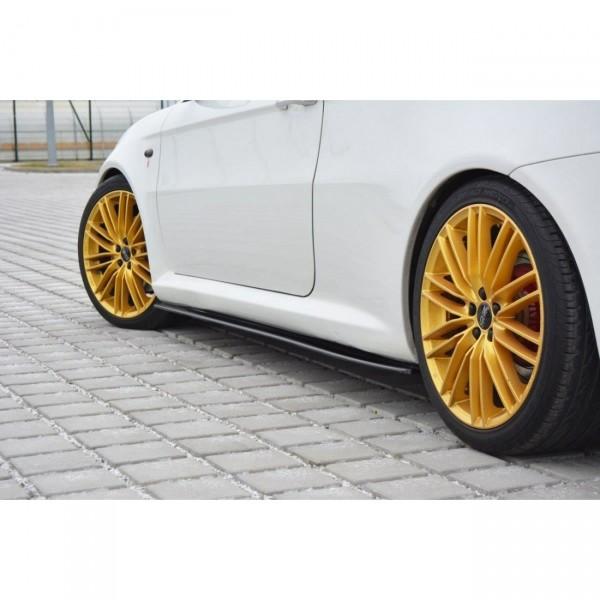 Seitenschweller Ansatz passend für Alfa Romeo GT schwarz matt