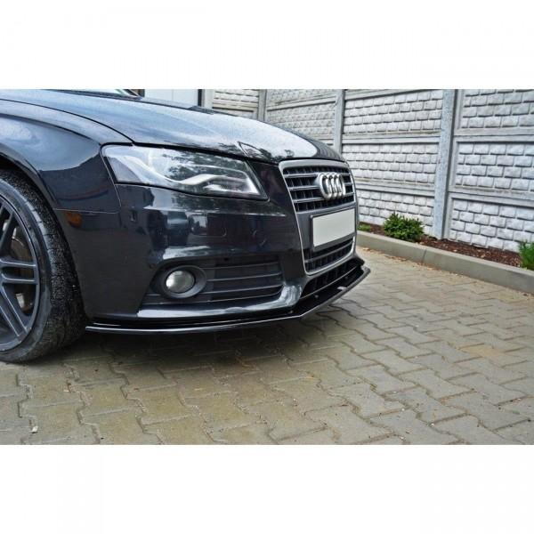 Front Ansatz passend für v.2 AUDI A4 B8 (vor Facelift) Carbon Look