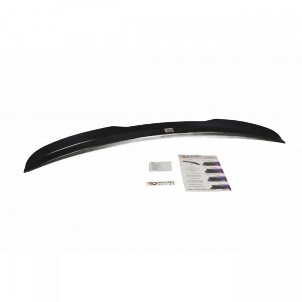 Spoiler CAP passend für AUDI A4 B8 schwarz Hochglanz