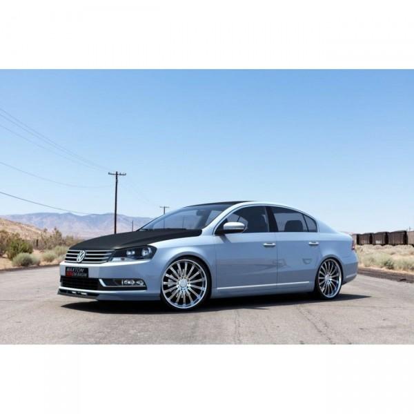 Front Ansatz passend für VW PASSAT B7 Carbon Look