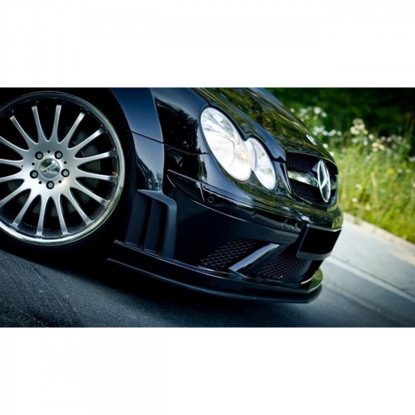 BODYKIT passend für + Motorhaube MERCEDES CLK W209 BLACK SERIES LOOK