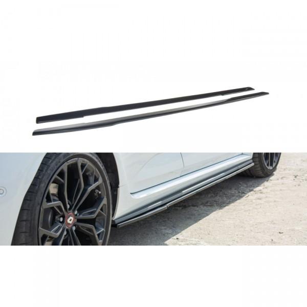 Seitenschweller Ansatz passend für Renault Megane IV RS schwarz matt