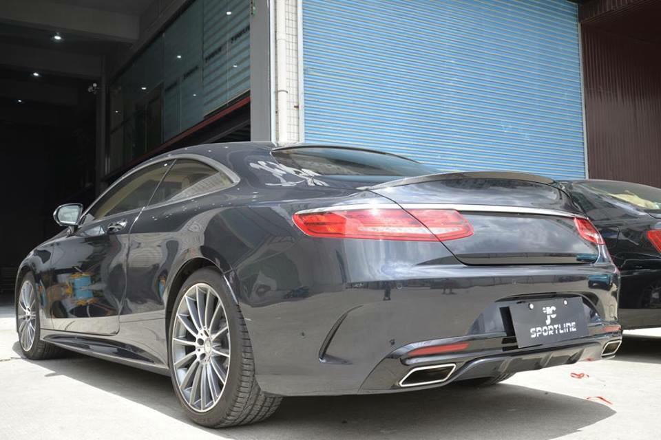 Heckspoiler für Mercedes E Klasse W213 Spoiler Heck AMG Dachspoiler 63 43 Neu
