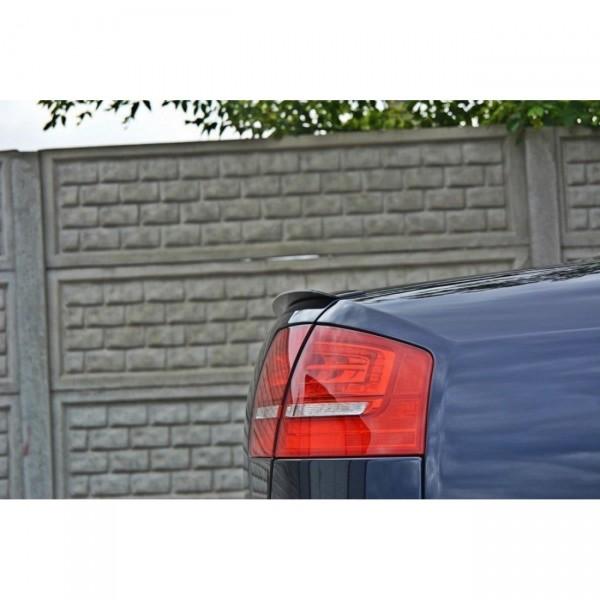 Spoiler CAP passend für AUDI S8 D3 schwarz Hochglanz