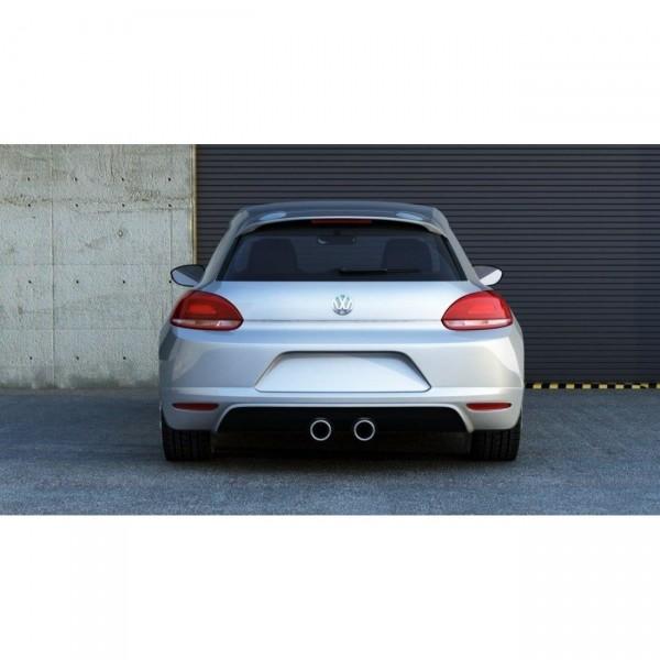 Diffusor Heck Ansatz passend für VW SCIROCCO STANDARD (SCIROCCO R LOOK)