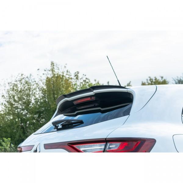 Spoiler CAP passend für Renault Megane IV RS schwarz Hochglanz