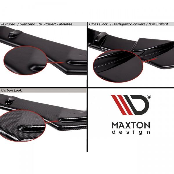 Front Ansatz passend für V.1 HONDA CIVIC EP3 (MK7) TYPE-R/S FACELIFT schwarz Hochglanz