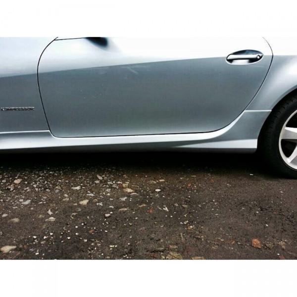 Seitenschweller passend für MERCEDES SLK R171 (SLK R172 AMG LOOK) ABS Kunststoff