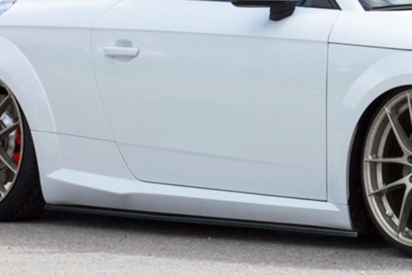 Cup Schweller ABS Hochglanz Schwarz Audi TT 8S, Coupe + Roadster ab Bj.:2014 -