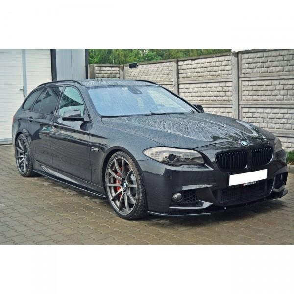 Seitenschweller Ansatz passend für BMW 5er F10/ F11 M-POWER/ M Paket schwarz Hochglanz