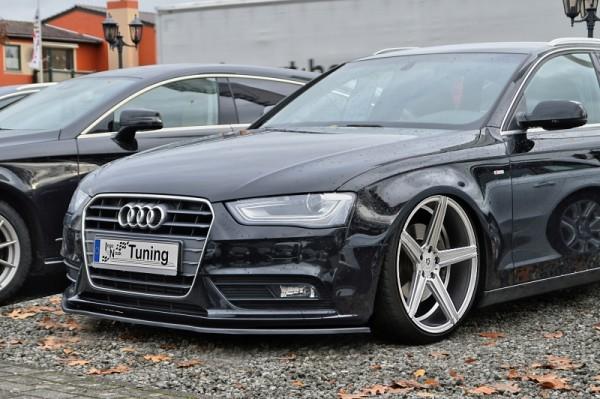 Cup Frontspoilerlippe aus ABS hochglanz schwarz Audi A5 / B8 Facelift Ab Bj.:2011- Für alle Ausführu
