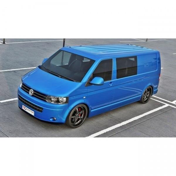 Front Ansatz passend für VW T5 Facelift ver.2 Carbon Look