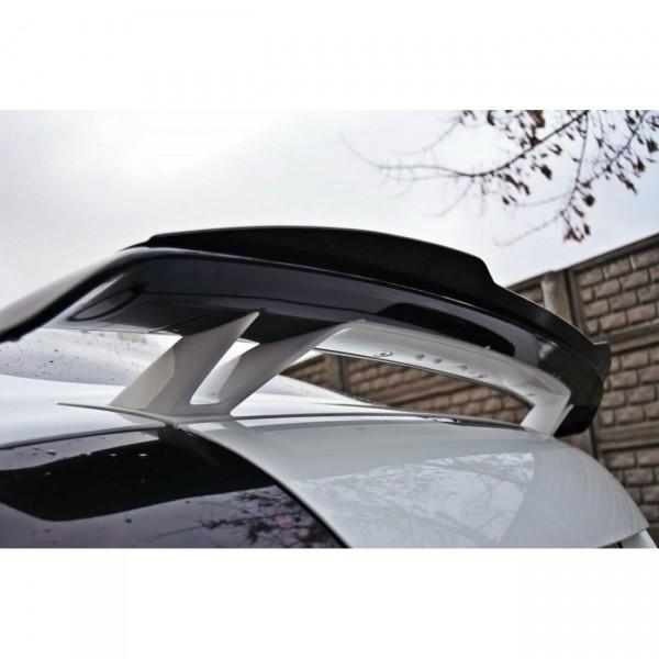 Spoiler CAP passend für AUDI TT MK2 RS schwarz matt