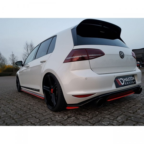 Seitenschweller Ansatz passend für VW GOLF Mk7 GTI CLUBSPORT Carbon Look