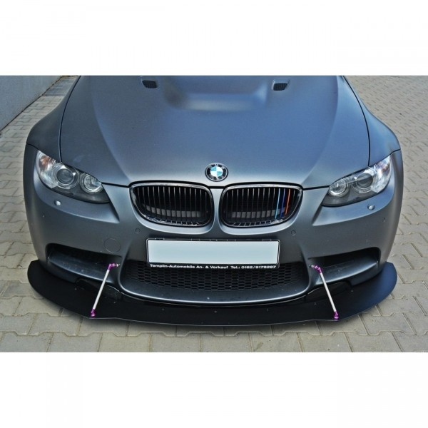Racing Front Ansatz passend für BMW M3 E92 / E93 (vor Facelift) Carbon Look