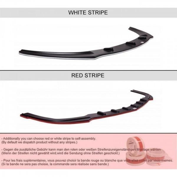 Heck Ansatz Flaps Diffusor passend für HONDA CIVIC VIII TYPE S/R Carbon Look
