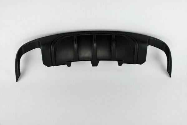 Diffusor für Audi A5 B8 8T Spoiler Heckansatz Sportback Schürze DTM Duplex Flaps