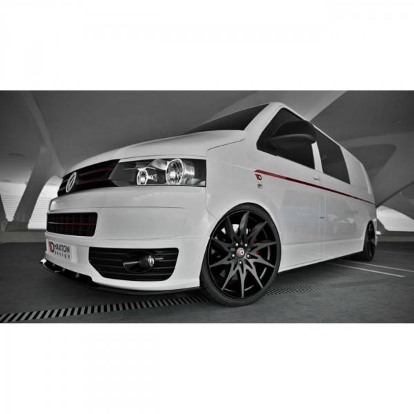 Front Ansatz passend für VW T5 SPORTLINE schwarz matt