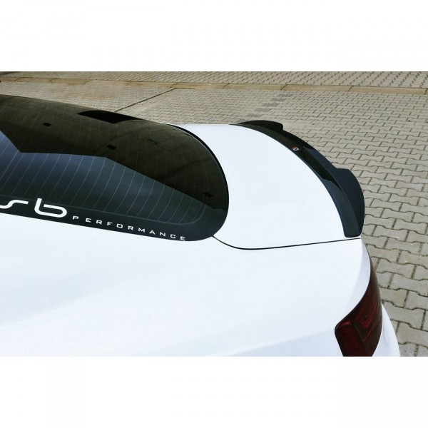 Spoiler CAP passend für AUDI A5 S-LINE schwarz matt