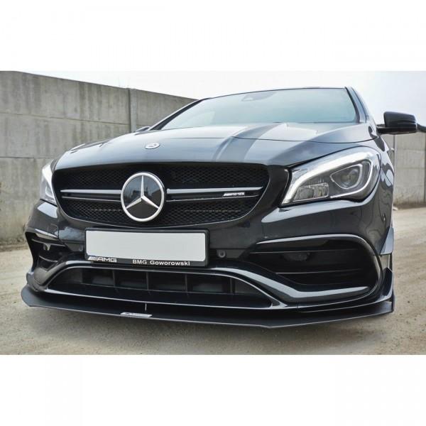 Racing Front Ansatz passend für V.1 Mercedes CLA A45 AMG C117 Facelift