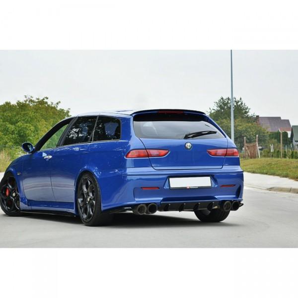 Spoiler CAP passend für ALFA ROMEO 156 GTA SW Carbon Look
