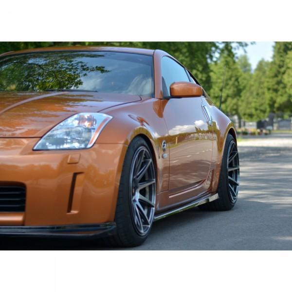 Seitenschweller Ansatz passend für NISSAN 350Z Carbon Look