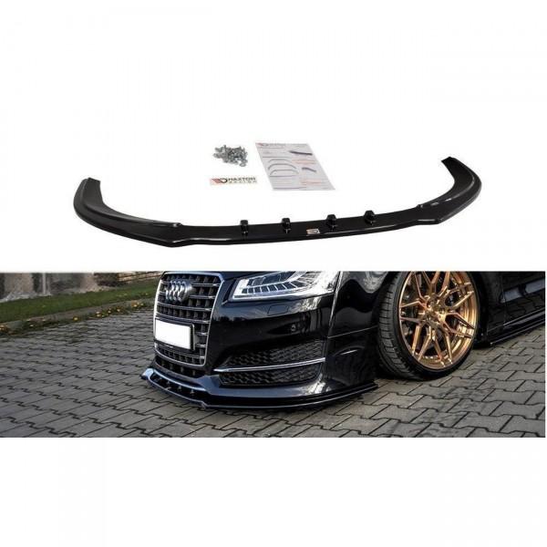 Front Ansatz passend für v.1 AUDI S8 D4 Carbon Look