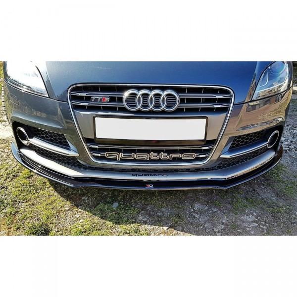 Front Ansatz passend für V.1 Audi TT S Mk2 (8J) Carbon Look