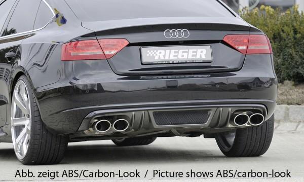 Rieger Heckeinsatz (GBL-55438) Audi A5 (B8/B81) Sportback