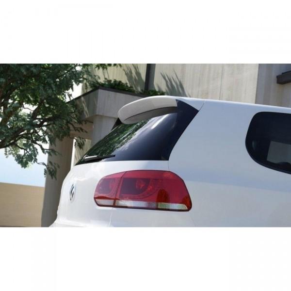 HECK SEITE Spoiler CAP passend für VW GOLF 6 GTI (R400 LOOK)