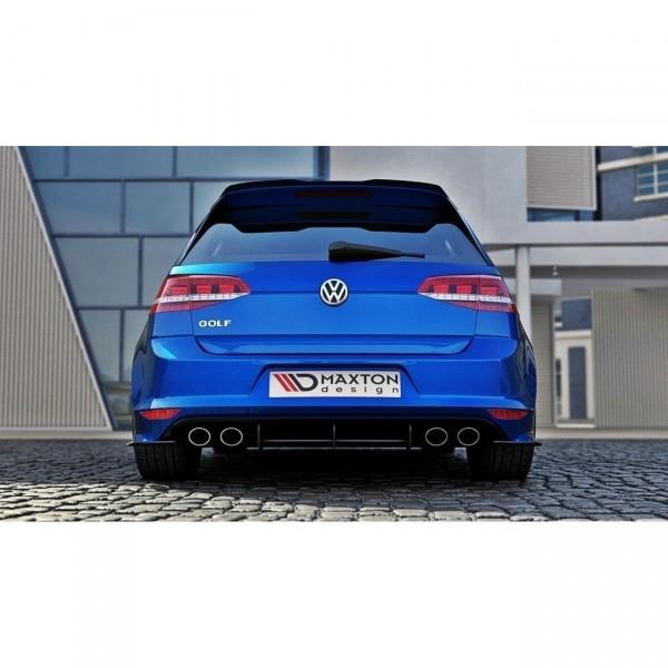 VW GOLF 7 R HATCHBACK Diffusor Heck Ansatz passend für Heckschürze passend für & Heck Ansatz Flaps D