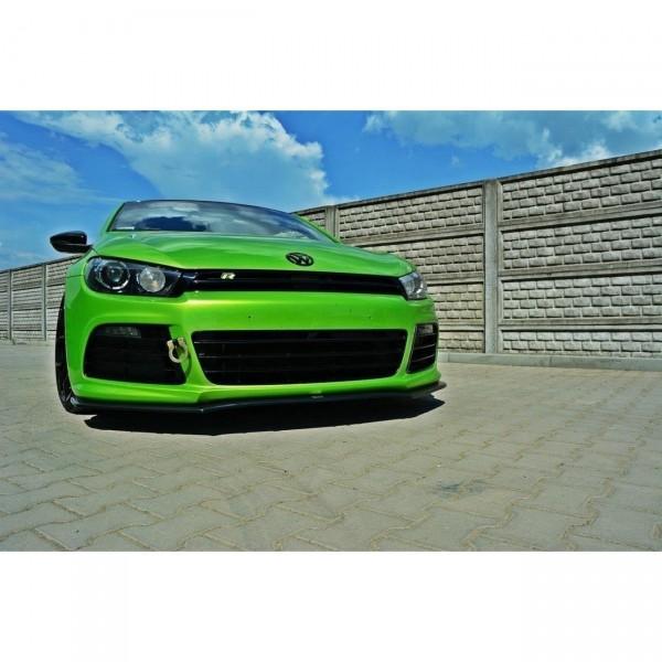 Front Ansatz passend für VW SCIROCCO R ver2 Carbon Look