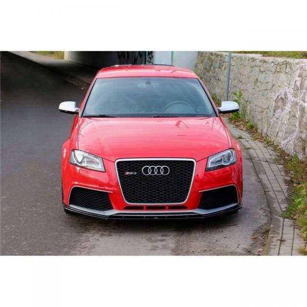 Front Ansatz passend für V.1 Audi RS3 8P schwarz matt