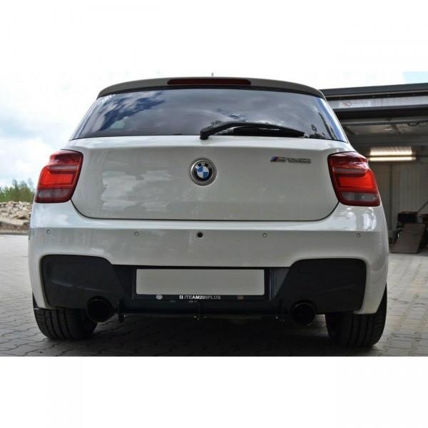 BMW 1er F20/F21 M-POWER Diffusor Heck Ansatz passend für Heckschürze passend für & Heck Ansatz Flaps