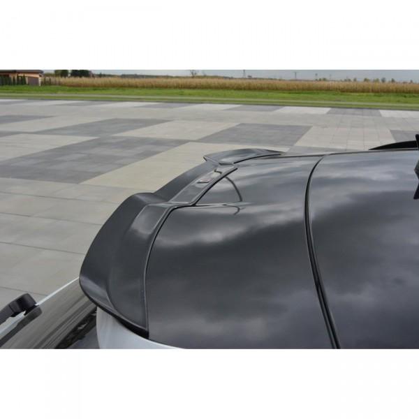 Spoiler CAP passend für Audi A6 C7 S-Line/ S6 C7 Avant Preface and Facelift schwarz matt