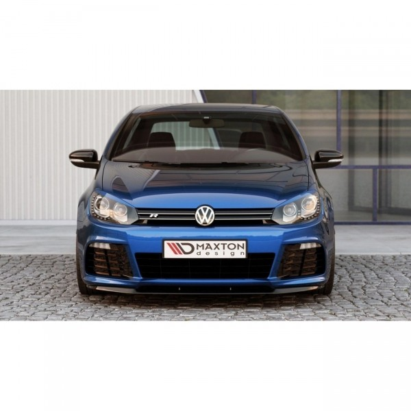 Front Ansatz passend für VW GOLF 6 schwarz matt