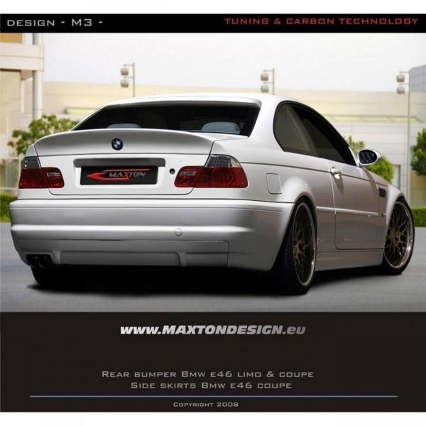 Heckstoßstange BMW 3er E46 COUPE & CABRIO