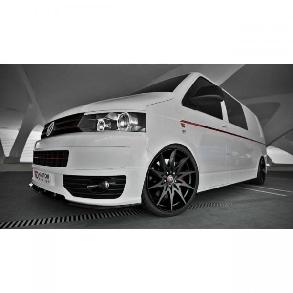 Front Ansatz passend für VW T5 SPORTLINE Carbon Look