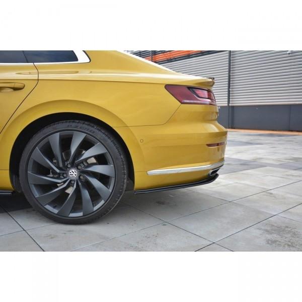 Heck Ansatz Flaps Diffusor passend für VW ARTEON schwarz matt