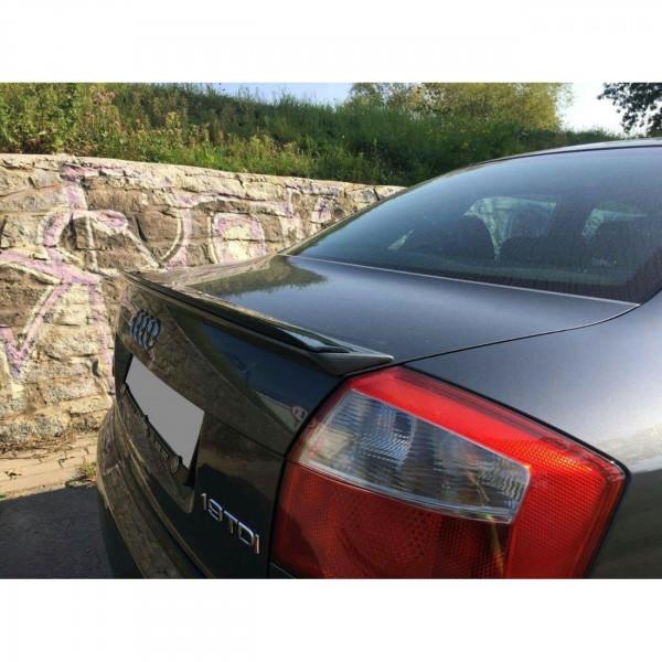 Spoiler CAP passend für Audi A4 B6 S-Line schwarz matt
