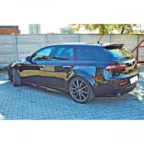Spoiler CAP passend für ALFA ROMEO 159 Sportwagon Carbon Look