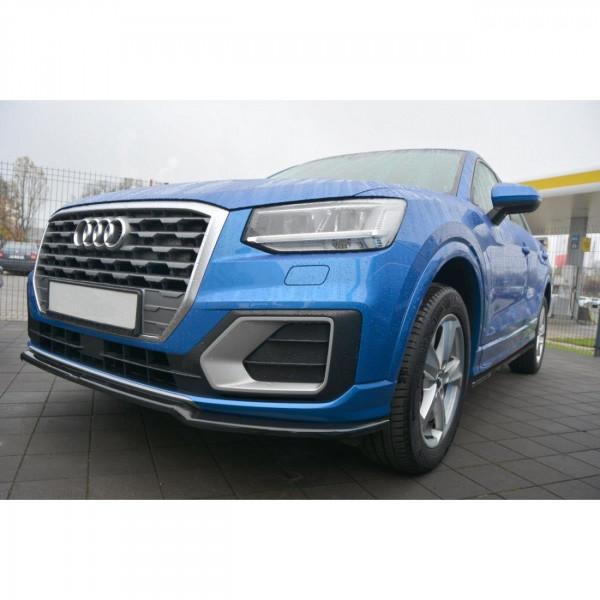 Seitenschweller Ansatz passend für Audi Q2 Mk1 schwarz Hochglanz