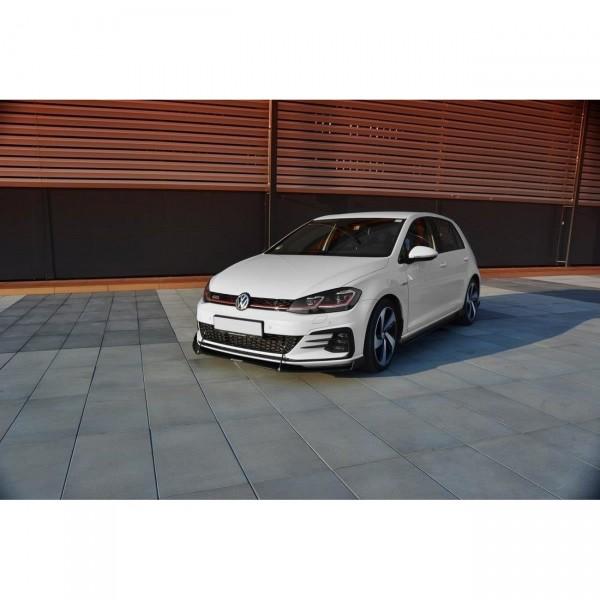 Racing Front Ansatz passend für V.2 VW GOLF 7 GTI FACELIFT