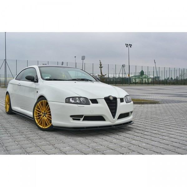 Front Ansatz passend für V.1 Alfa Romeo GT schwarz Hochglanz