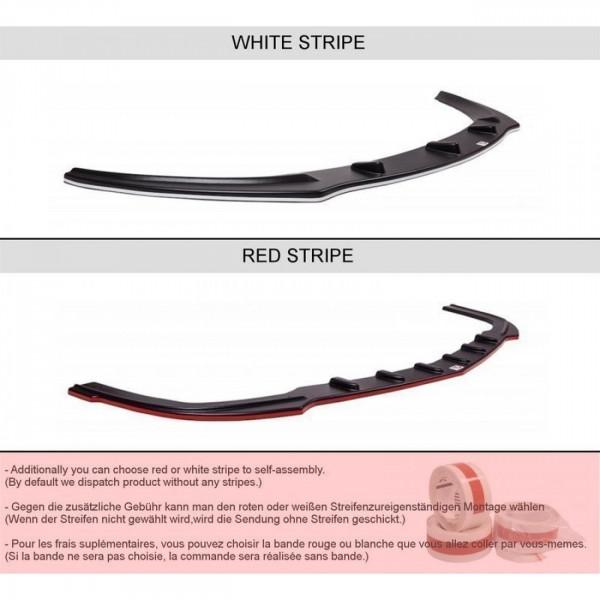 Seitenschweller Ansatz passend für FORD FIESTA MK7 ST Carbon Look
