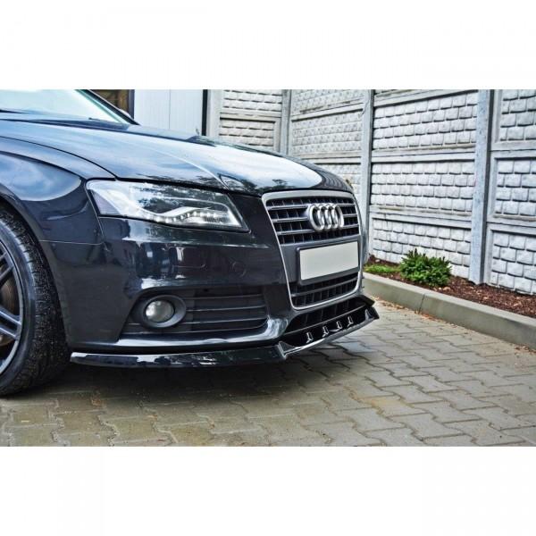 Front Ansatz passend für v.1 AUDI A4 B8 (vor Facelift) Carbon Look