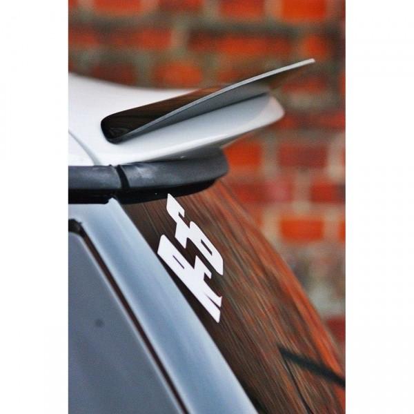 Spoiler CAP passend für MINI COOPER R56 JCW schwarz Hochglanz