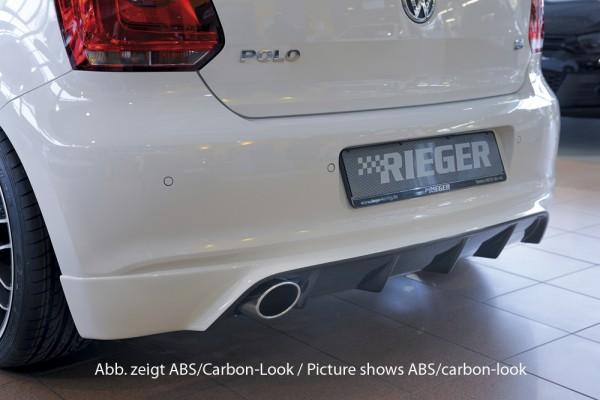 Rieger Heckschürzenansatz VW Polo 6 (6R) 5-tür.