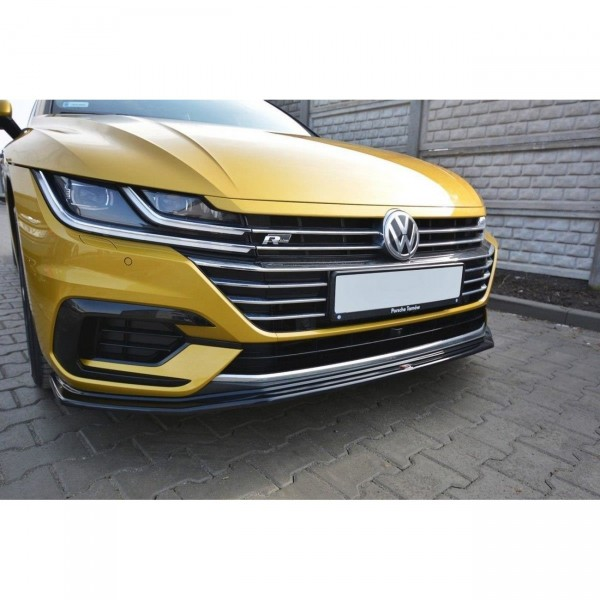 Front Ansatz passend für v.1 VW ARTEON schwarz matt
